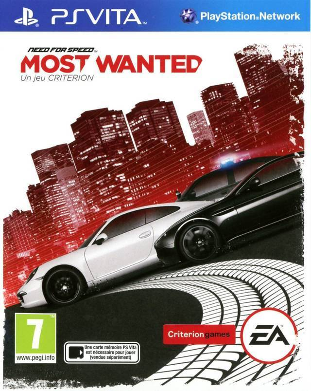 Need for Speed: Most Wanted - A Criterion Game PSVita