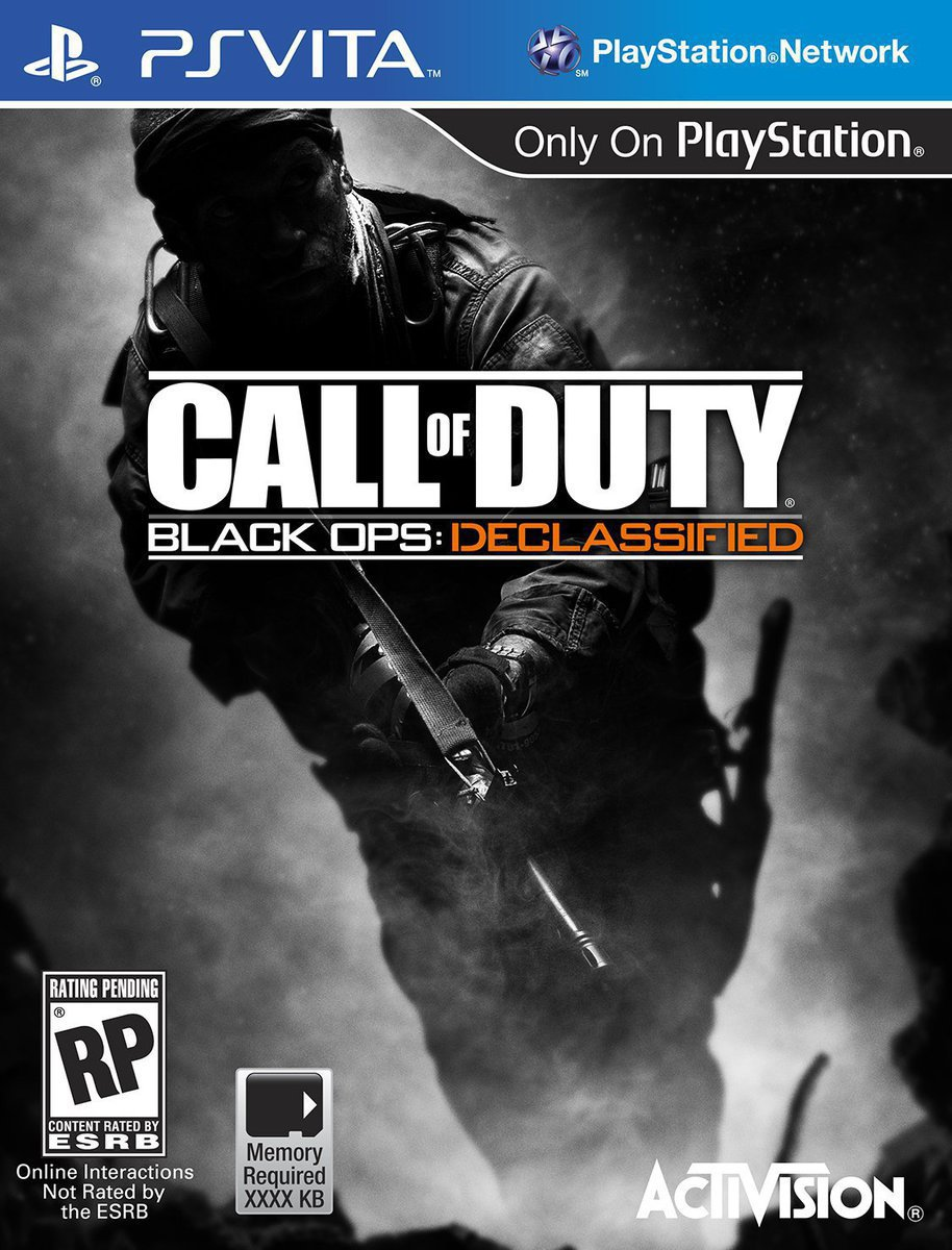 Call of Duty: Black Ops Declassified PSVita