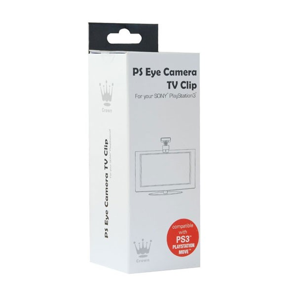 PS EYE CAMERA TV CLIP (For your SONY PlayStation3)