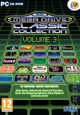 Sega Mega Drive Classic Collection - Volume 3 PC
