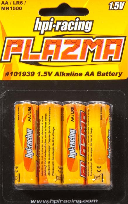 hpi-racing plazma AA batteries(4 μπαταρίες)