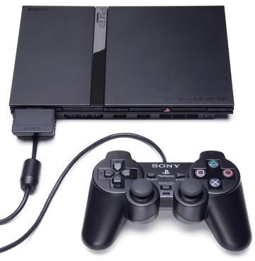 SONY PLAYSTATION 2 CONSOLE SLIM BLACK