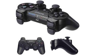 SONY SIXAXIS DUALSHOCK 3 WIRELESS CONTROLLER BLACK [BULK]